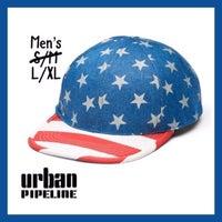 1370116de42 Men Urban Pipeline Flat Bill Hat Sz L XL