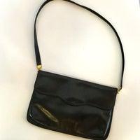 Purse Vintage Black Leather Koret Small