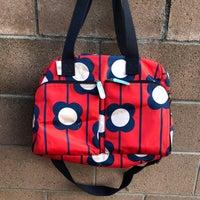 Orla Kiely Diaper Bag Target Red Blue