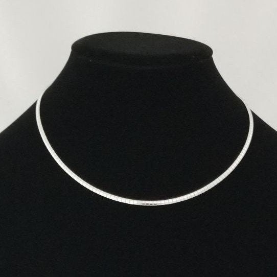 Stainless Steel Omega Necklace CHOKER