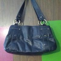 Genuine Leather Worthington Blck Handbag